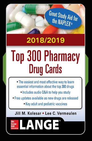 Toggle navigation Top 300 Pharmacy Drug Cards—2018